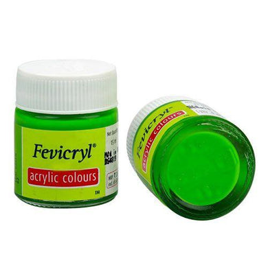 Fevicryl Acrylic Colors- Leaf Green Fabric Glue & Adhesives
