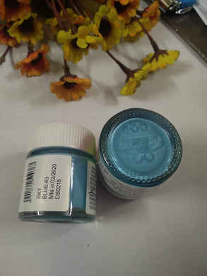 Fevicryl Acrylic Colors- Sky Blue Fabric Glue & Adhesives