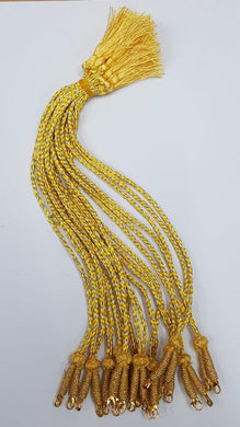 Back Rope GOLD & Zari threaded. (BR 03)