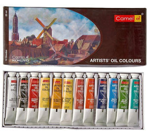 Camel Artist Oil Colors Fabric Glue & Adhesives