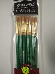 Fine Art Brushes Flat Type Aari Work Tools