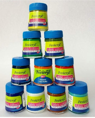Fevicryl Fabric Colors White Glue & Adhesives