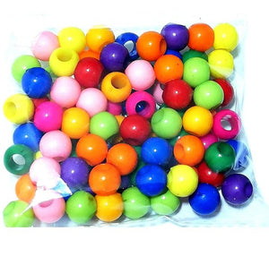 Plastic Beads 10Mm (Wrapping Quality)
