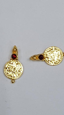 Lakshmi Coins Maroon (Necklace Making) LC 09