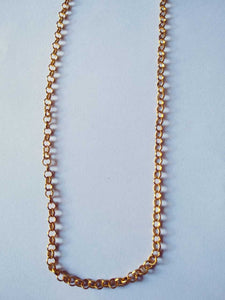 "Micro Plated Chain 3 mm (34"" Length) MCL 02"