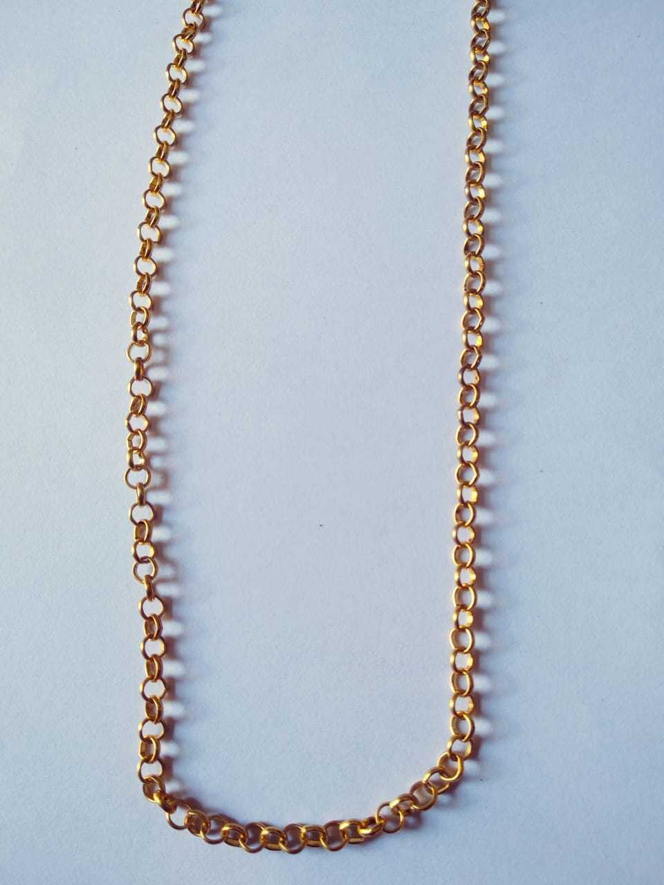 Micro Plated Chain 3 mm (34