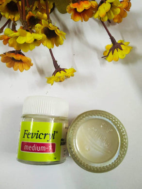 Fevicryl Acrylic Binder/ Medium 1 & 2 Fabric Glue Adhesives