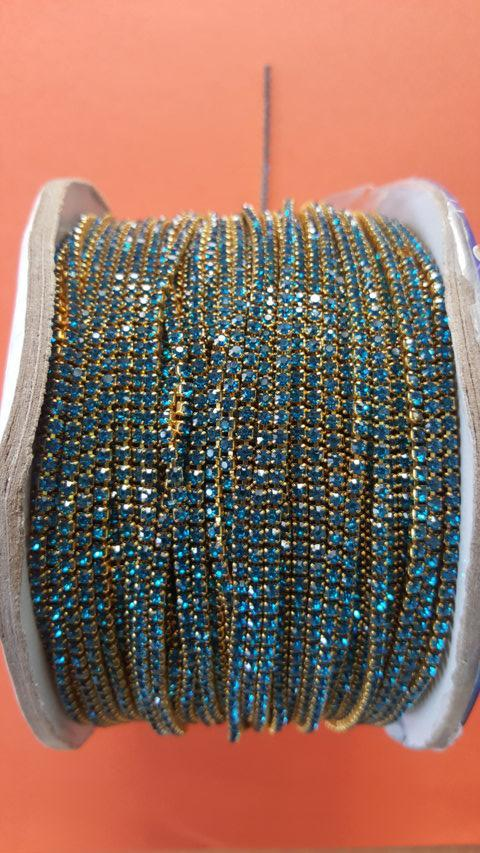 L.BLUE Stone Chain Small