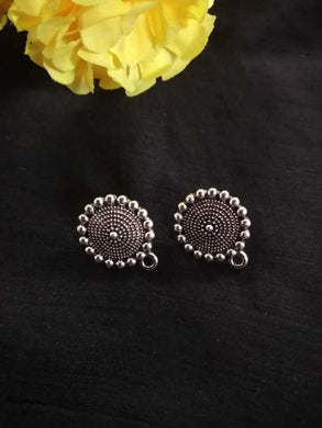 Antique Metal Stud Silver SS03