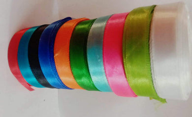 Satin Ribbon 1Inches Width Used In Gift Packaging Decorations Art & Carft Dresses White Embroidery