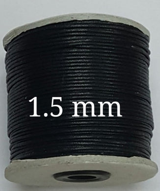 Black Rope 1.5 mm