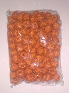 D Orange Tb18 Cotton Thread Beads