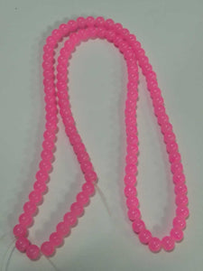 Beads Glass 8Mm D Pink 8 Mm
