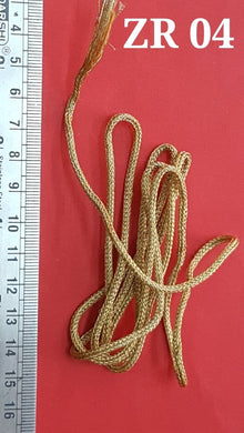 Zari Rope THICK Gold
