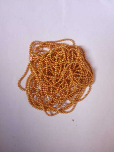 1 Size Ball Chain Bright Gold Chains