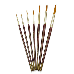Camlin Sr-66 Synthetic Round Brush- Type Drawing Materials