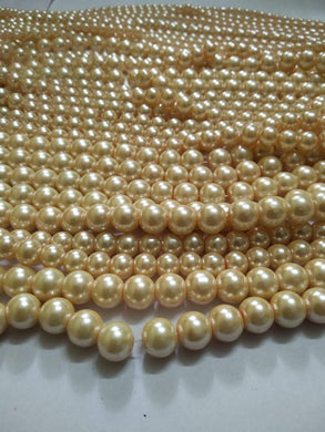 Cream Color Premium Quality Pearl Beads 4Mm