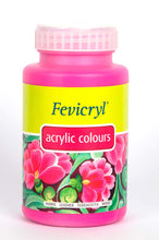 Load image into Gallery viewer, Fevicryl Acrylic Colors - Deep Brilliant Purple 500Ml Fabric Glue & Adhesives