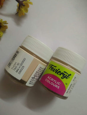 Fevicryl Acrylic Colors- Flesh Tint Fabric Glue & Adhesives
