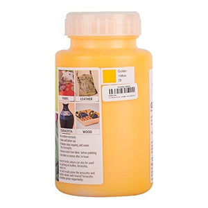 Fevicryl Acrylic Colors - Golden Yellow 500Ml Fabric Glue & Adhesives