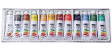 Load image into Gallery viewer, Camel Artists Oil Color Box - 9Ml Tubes 12 Shades Fabric Glue & Adhesives
