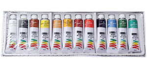 Camel Artists Oil Color Box - 9Ml Tubes 12 Shades Fabric Glue & Adhesives