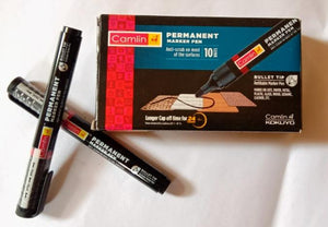 Camlin Bold-E Black Permanent Marker Stationery Products