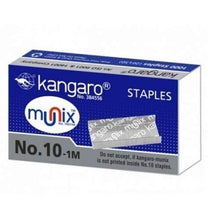 Load image into Gallery viewer, Kangaro Aris 10 Stapler With 5 Pkt Munix Staple Pin No-10 Stationery Products