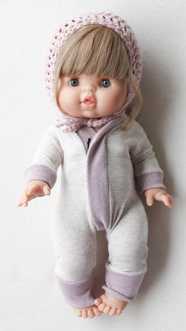 Flax Goodnight Dolly Sleepsuit