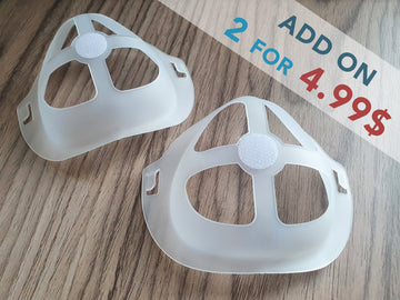 Mask Bracket Set of 2, 5, 10 - Little Beasty