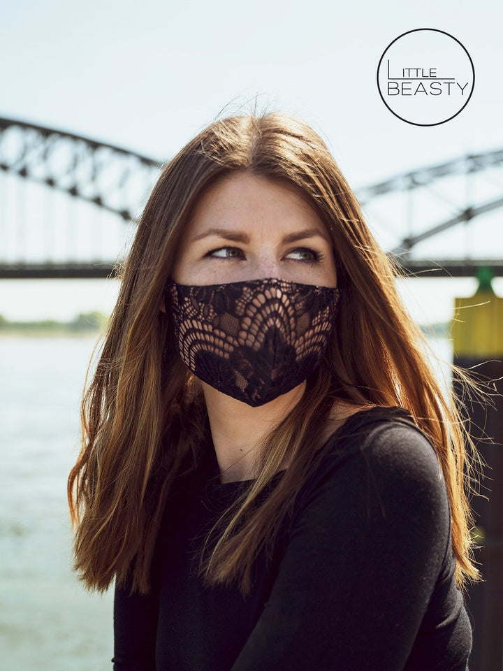 Lacey Designer Facemask - Little Beasty