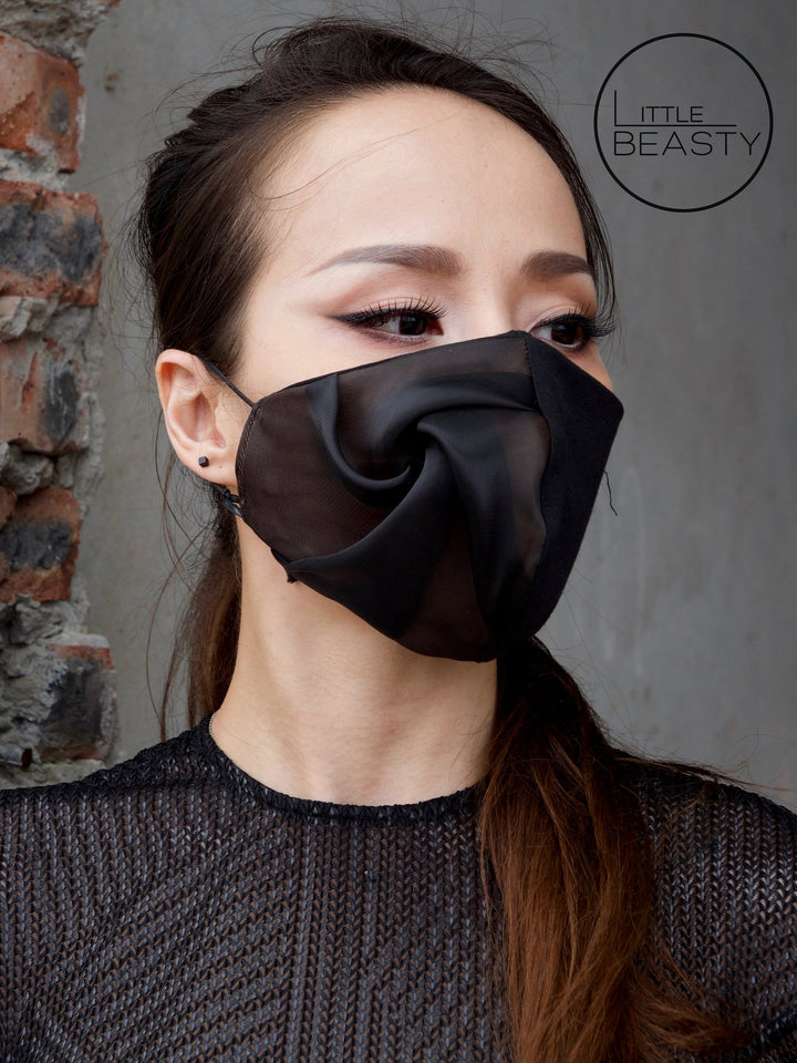 Dark Rose Luxury Facemask - Little Beasty
