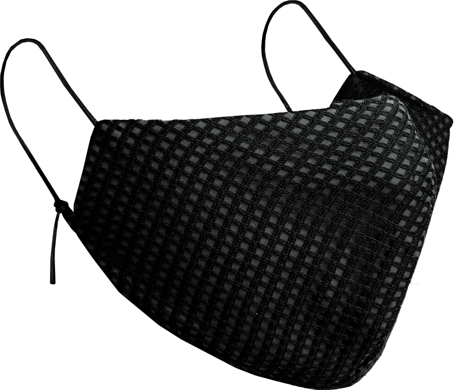 Dark Gray Designer Facemask - Little Beasty