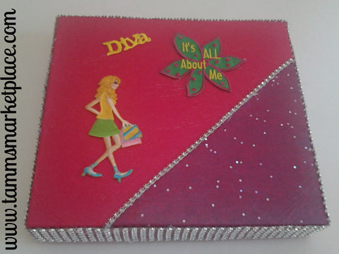 Diva It's All About Me Box QBX018