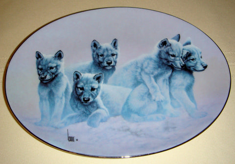 Family Portrait Collector's Plate #1007A of The Wild Bunch at Bradford Exchange CP011
