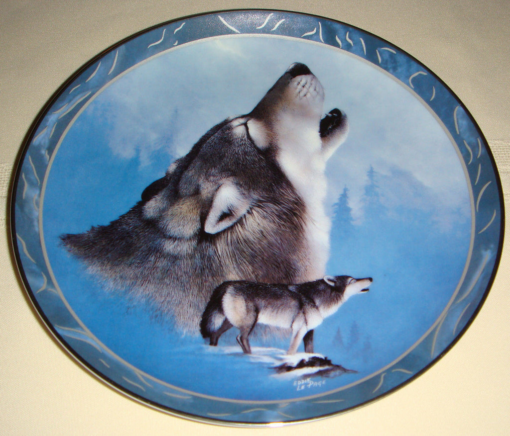 Grey Guardian Collector's Plate #3689B of The Wild Bunch at Bradford Exchange CP025