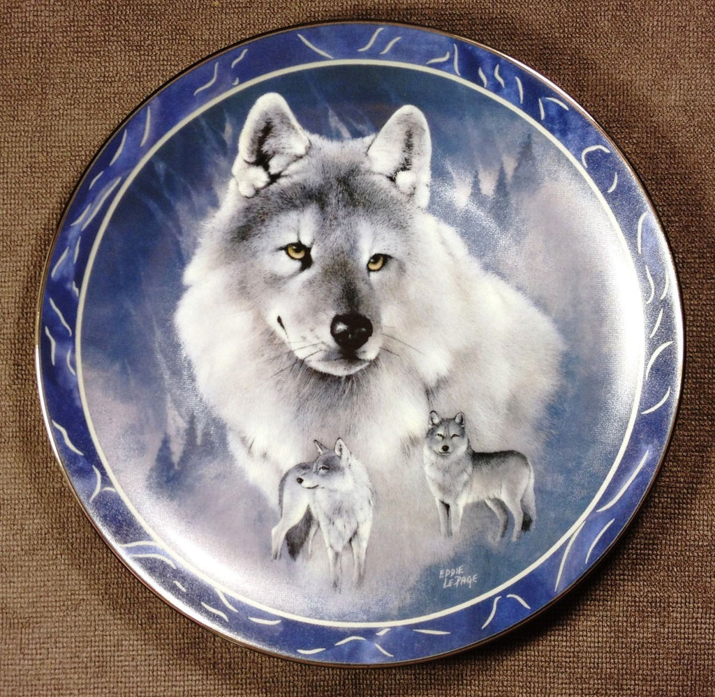 Silver Scout Collector's Plate #2042B of The Wild Bunch at Bradford Exchange CP026