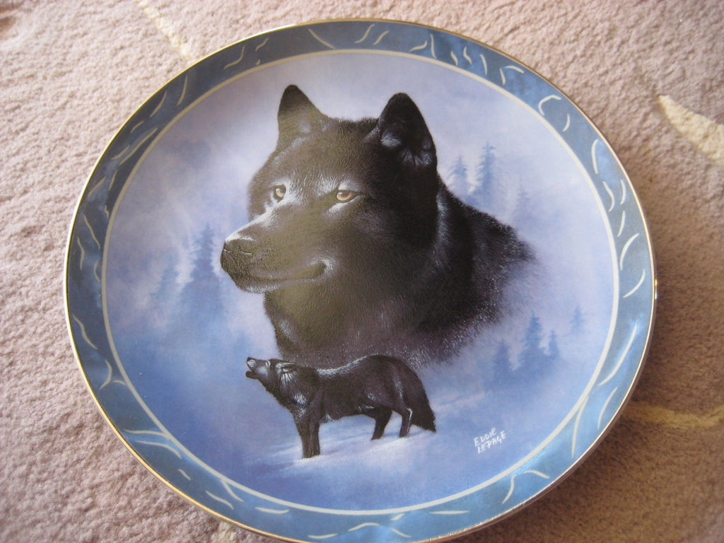 Black Knight Collector's Plate #3759A of The Wild Bunch at Bradford Exchange CP027