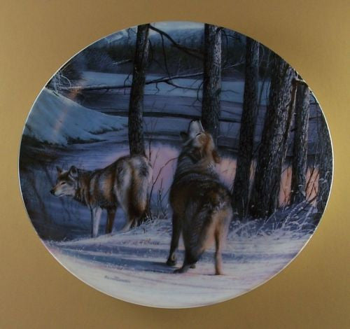 Northern Spirits Collector's Plate #2311E of Call Of The Wilderness at Bradford Exchange CP046