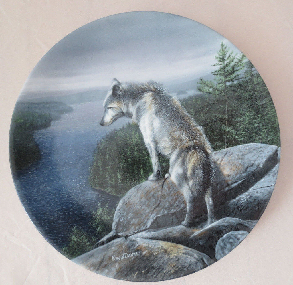 The Silent One Collector's Plate #8393A of Call Of The Wilderness at Bradford Exchange CP047