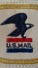 US Mail Embroidered Keychain in Red, White and Blue with Eagle   JAY001