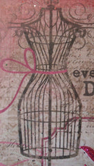 "Mini Canvas with Easel ""Every day is a Special Occasion"" - Mixed Media Art MKM001"