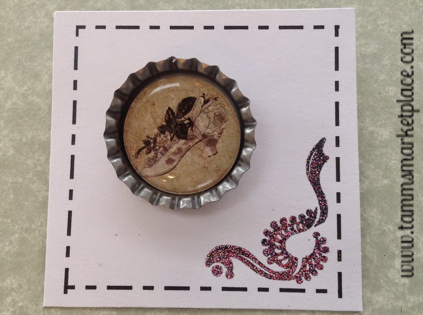 Bottle Top Pin from the Elegant Vintage Collection MKP083G