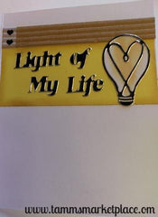 Hello Light of My Life Card QC0005