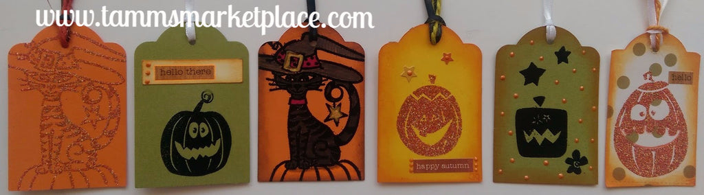 Halloween Gift Tag Set of 6 QGT032