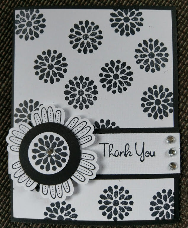 Two Thank You Cards per phone request special order reserved for Myra Bryant MKC045SP
