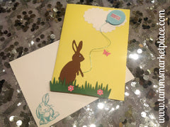 Easter Cards Set of 5 in Assorted Colors JCA012