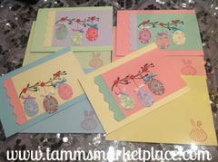 Easter Cards set of 4 JAC013