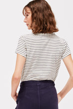 Load image into Gallery viewer, Recycled Stripe Frank Tee