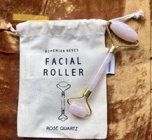 Load image into Gallery viewer, Rose Quartz Roller